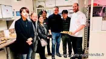 Un pâtissier de Franqueville-Saint-Pierre invité une semaine au grand magasin Hankyu d'Osaka au Japon - Paris-Normandie