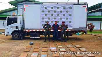 Cayó cargamento de pasta base de coca en la vía Villagarzón – Mocoa - Conexión Putumayo