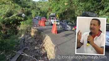 Gobernador del Putumayo reclamó mantenimiento urgente de la vía Mocoa – Pitalito - Conexión Putumayo