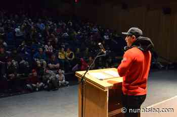 Jordin Tootoo shares his story in Kuujjuaq - Nunatsiaq News