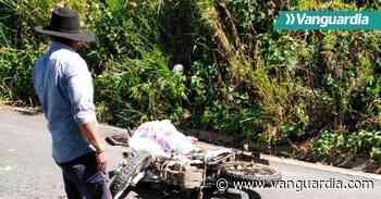 Motociclista perdió la vida en la vía Oiba – Guadalupe, Santander - Vanguardia
