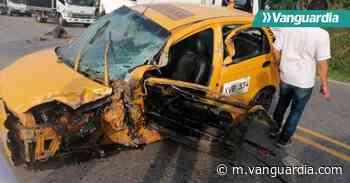 Aparatoso accidente en Oiba, Santander, dejó un herido - Vanguardia