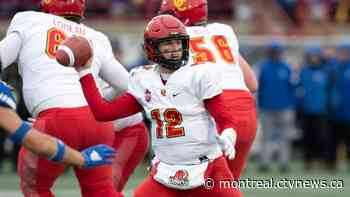 Chateauguay quarterback helps Calgary Dinos win Vanier Cup over Montreal Carabins - CTV News