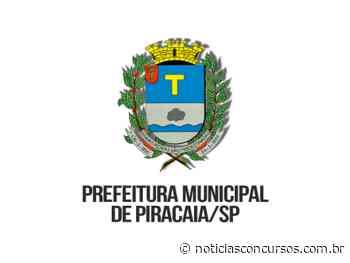 Concurso Prefeitura de Piracaia SP 2019/2020 encerra inscrições hoje, 09 de janeiro! - Notícias Concursos
