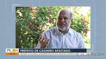 Justiça determina afastamento do prefeito de Casimiro de Abreu, no RJ - G1