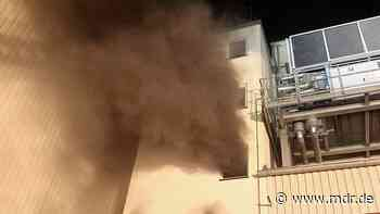 Millionenschaden bei Brand in Bad Langensalza - MDR