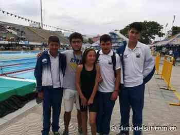 Nadadores de Mallama ganaron dos medallas en Torneo Internacional Interclubes - Diario del Sur