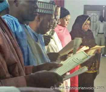 Gov. Zulum Swears In Perm Secs, Special Advisers, Tasks Them on Transparency, Accountability - The Nigerian Voice