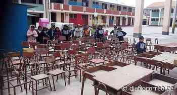 Alumnos de Orcopampa esperan mobiliario escolar desde hace 7 meses - Diario Correo