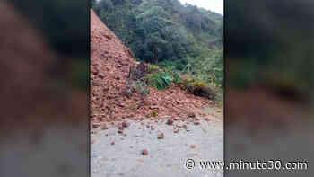 FOTO: Derrumbe reportado entre Toledo y San José de la Montaña habría afectado la movilidad en el norte ... - Minuto30.com