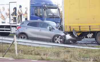 Rechterrijstrook Sintrale As bij Nijega dicht door ongeval - Leeuwarder Courant