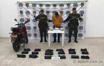 Capturado por transportar cocaína en Aguachica - ElPilón.com.co