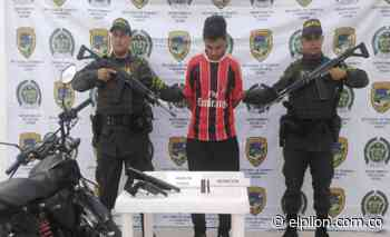 Capturado por porte ilegal de armas en Aguachica - ElPilón.com.co