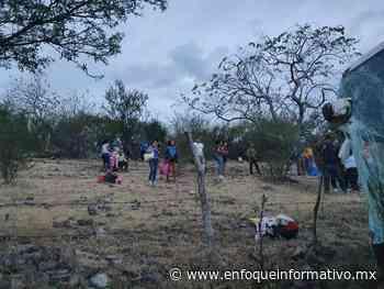 Accidente de autobús en carretera Iguala-Ciudad Altamirano; 10 lesionados - Enfoque Informativo