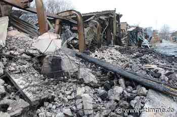 Nach dem Feuer in Ilsfeld: Experten untersuchen den Brandort - Heilbronner Stimme