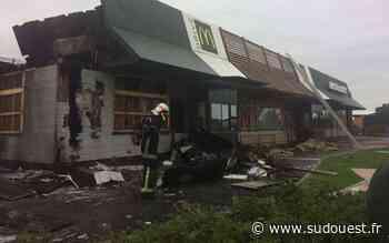 Haute Gironde : l'incendie du McDonald's de Cavignac serait d'origine volontaire - Sud Ouest