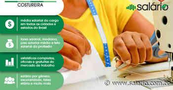 Costureira em Geral - Salário 2020 - Teutonia, RS - salario.com.br