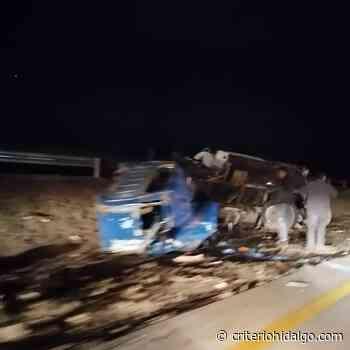 Pipa se accidenta sobre la carretera Arco Norte, en Atitalaquia - Criterio Hidalgo