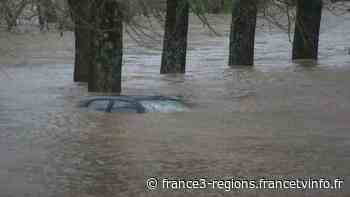 Des véhicules emportés à Ustaritz au pays basque - France 3 Régions