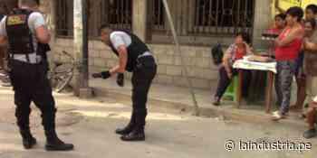 Ascope: Sicarios atacan a balazos a ciudadano colombiano   TRUJILLO - La Industria.pe