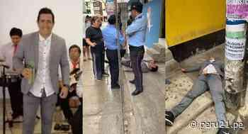 Encuentran a regidor de Ascope inconsciente en plena vía pública - Diario Perú21