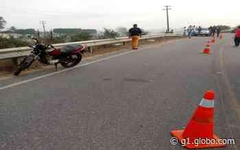 Homem morre em acidente com moto em Itabaianinha - G1