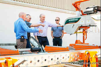 Fort St. James Secondary students build portable sawmill - BCLocalNews