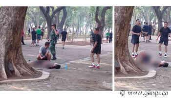 Ledakan di Monas, Begini Kondisi Salah Satu yang Diduga Korban - GenPI.co