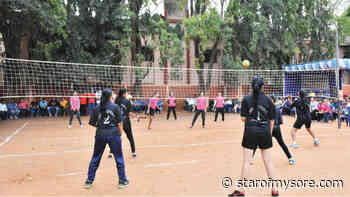 Throwball Tournament for women begins - Star of Mysore