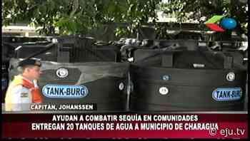 Defensa Civil entregó ayuda para contrarrestar sequía en el Municipio de Charagua en Santa Cruz - eju.tv