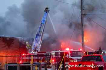 UPDATE: Concerns over toxic chemicals in Schomberg industrial fire - BarrieToday