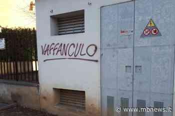 Mezzago, muri imbrattati dai vandali con parolacce - MBnews