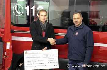 FFW Wilhelmsthal spendet 755 Euro für Pfarrei - inFranken.de