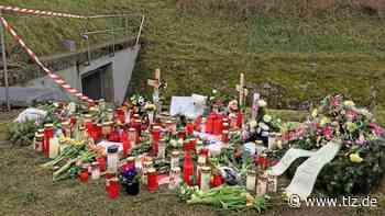 Zweiter Gedenkort an der Unfallstelle in Berka/Hainich - Thüringische Landeszeitung