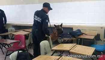 #Juarez | Implementa Seguridad Pública Municipal ´Operativo Mochila´ en escuelas de la ciudad - Adriana Ruiz