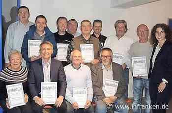 Dem TSV Tettau bis zu 60 Jahre treu - inFranken.de