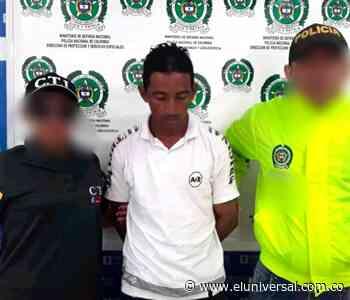 Cae presunto violador de una niña en Ovejas, Sucre - El Universal - Colombia