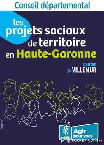 Projet Social de Territoire – Canton de Villemur Maison Des Solidarités de Bouloc 30 janvier 2020 - Unidivers