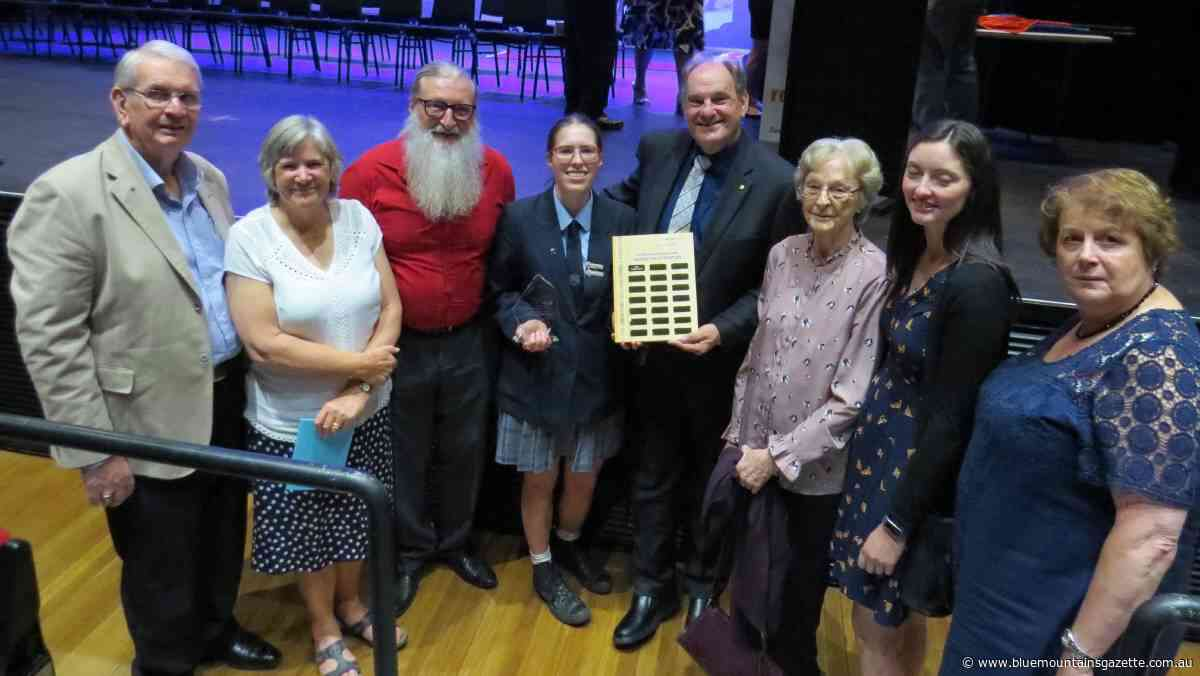 Blaxland High award a tribute to Paul Henningham - Blue Mountains Gazette