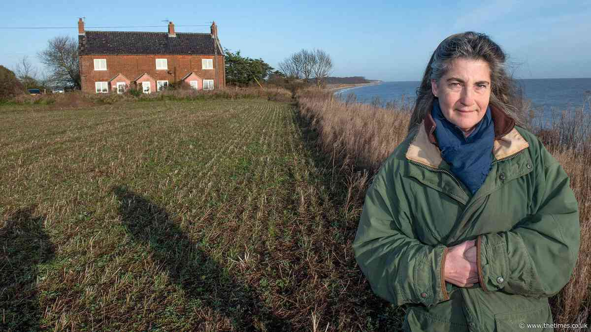 Juliet Blaxland: We've lost 20ft of land in a fortnight. Our home will be gone by Christmas - The Times
