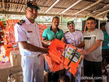 """Marinha e Soamar-PA promovem """"Natal dos Ribeirinhos"""" em Abaetetuba-PA - Defesa - Agência de Notícias"""