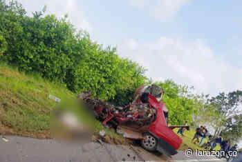 Un muerto dejó accidente de tránsito entre Sahagún y Chinú - LA RAZÓN.CO
