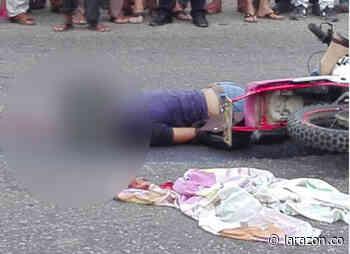 Un muerto y un herido dejó choque entre motociclistas en Chinú - LA RAZÓN.CO