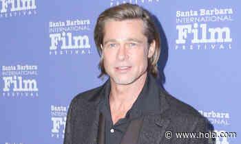 Brad Pitt reaparece en el Festival de Cine de Santa Barbara tras su encuentro viral con Jennifer Anistonc - Hola