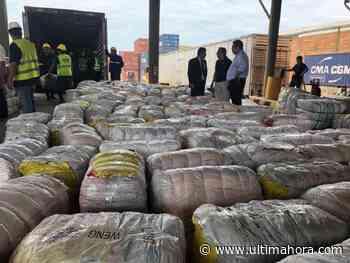 Incautan prendas por valor de USD 10 millones en Villeta - ÚltimaHora.com