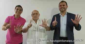 Prefeitos de Pacatuba e Carnaubal confirmam candidatura à reeleição pelo MDB - Flavio Pinto