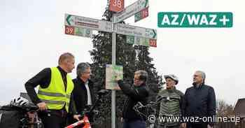Knotenpunkte - Warum an den Radwegen überall neue Schilder stehen - Wolfsburger Allgemeine