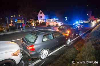Oppenweiler - Drei Fahrzeuge in Auffahrunfall verwickelt - Zeitungsverlag Waiblingen