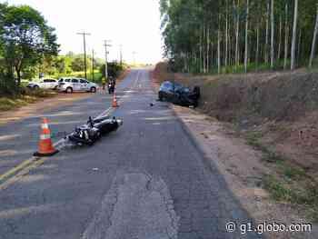 Motociclista morre ao colidir com carro em estrada de Jarinu - G1