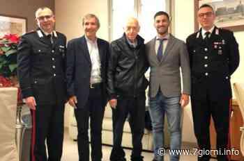 """Tribiano: """"nonno Valerio"""" accolto in Comune riabbraccia i suoi salvatori - 7giorni"""